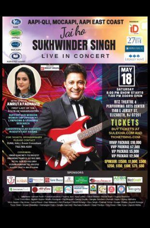 Jai ho!! Sukhwinder Singh Live in Concert