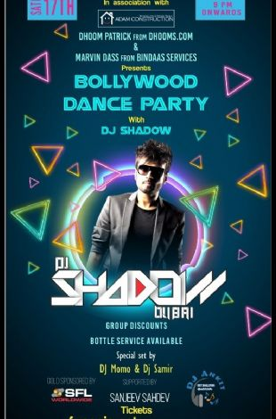 Bollywood Dance Party with DJ Shadow from DUBAI