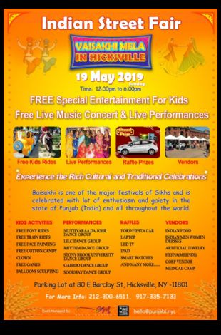 Indian Street Fair