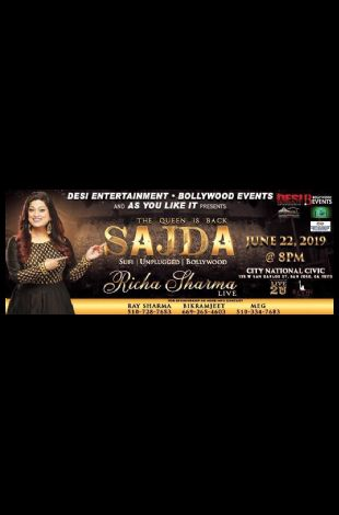 Richa Sharma Live In concert - Bay area