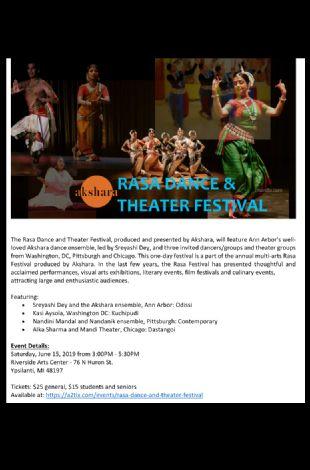 Rasa Dance and Theater Festival