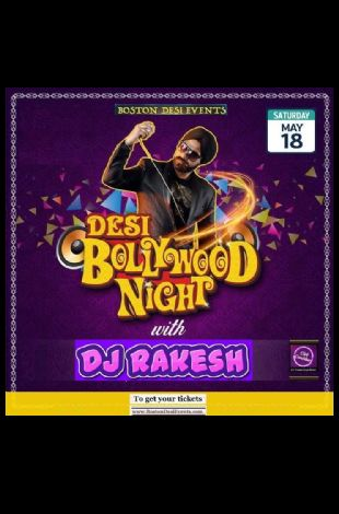 Bollywood/ Bhangra Dance Party