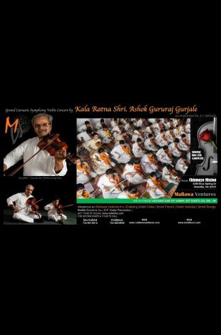 Grand Carnatic Symphony Violin Concert
