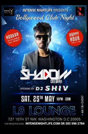 Bollywood Night with DJ Shadow