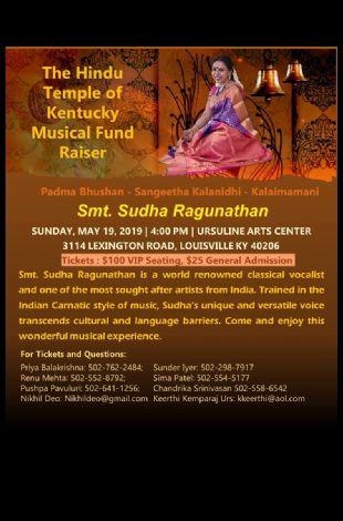 Smt. Sudha Ragunathan Concert