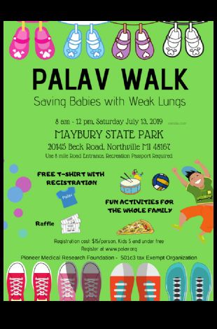 Palav Walk - Saving Babies with Weak Lungs