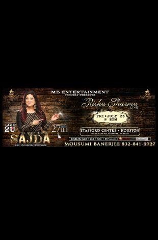 Richa Sharma Live In concert - Houston