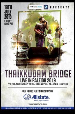 Thaikkudam Bridge Live in Raleigh