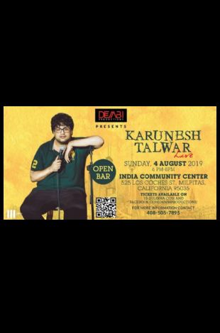 Karunesh Talwar Live Stand Up Comedy - Bay Area