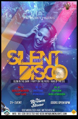 Silent Headphone Party - Bollywood vs Hollywood