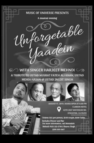Unforgettable Yaadein with Harjeet Mehndi