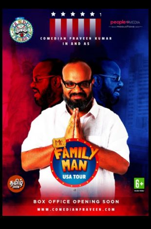 Praveen Kumar's (Mr. Family Man) Stand-up comedy Live In Bay Area