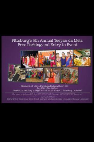 Pittsburg's 5th Annual Teeyan da Mela