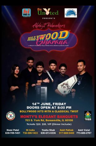 BOLLYWOOD GHARANA LIVE IN CHICAGO