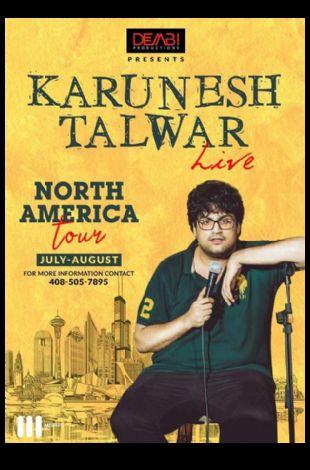 Karunesh Talwar Live Stand Up Comedy - Dallas