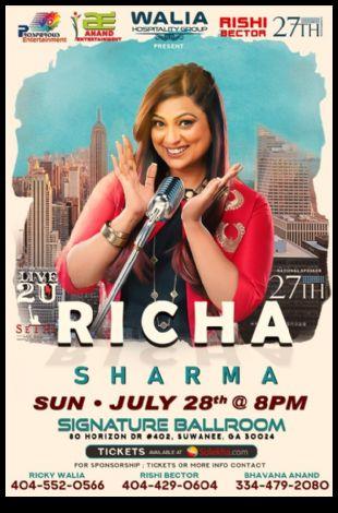 Richa Sharma Live In Concert - Atlanta
