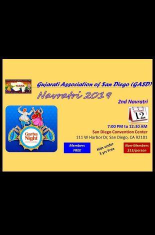 GASD 2nd Navratri on Oct 12th 2019