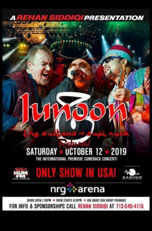 Junoon Live in Concert - Houston (The Sultans of Sufi Rock Return!)