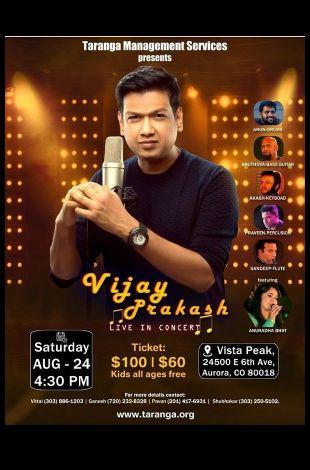 Vijay Prakash Kannda Live Musical Event