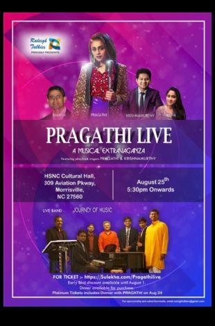 Pragathi Guruprasad and Krish LakshmiNarashiman Live Concert