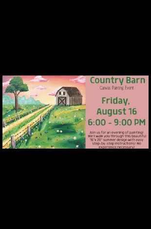 Country Barn Canvas Painting Event