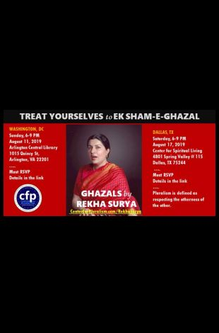 Rekha Surya's Classical Ghazal Program
