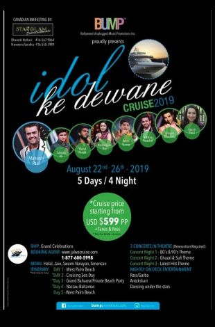 Idol Ke Deewane Cruise 2019
