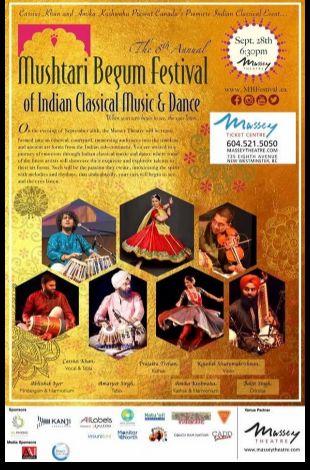 Mushtari Begum Festival of Indian Classical Music and Dance