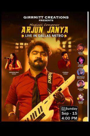 Arjun Janya Live Concert - Dallas