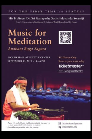 Meditation and Healing Music Concert