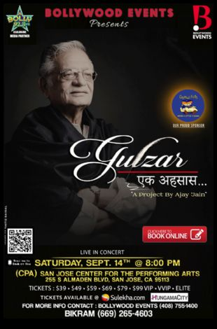 Legendary Poet Gulzar Live in Concert - Bay Area