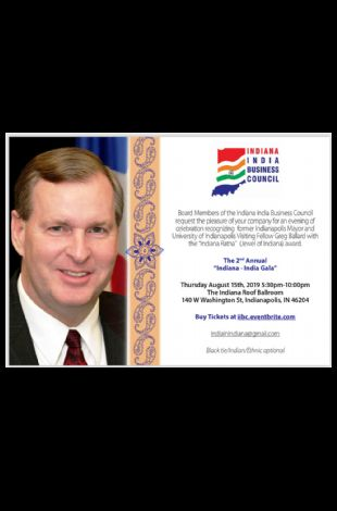 The 2nd Annual Indiana-India Gala