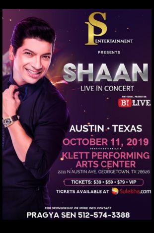 SHAAN Live In Concert - Austin