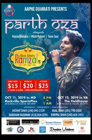 Raas Garba Ramzat-Parth Oza and Saaz Group