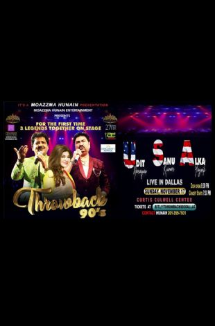 Throwback 90's Dallas - Udit Narayan, Alka Yagnik, Kumar Sanu