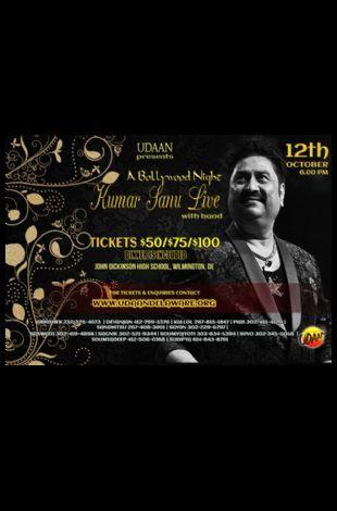 Kumar Sanu Live Concert in Delaware