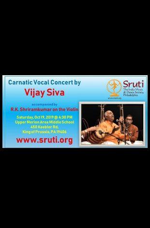 Vijay Siva - Carnatic Concert