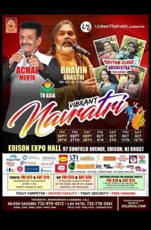 Navratri Garba at NJ Expo