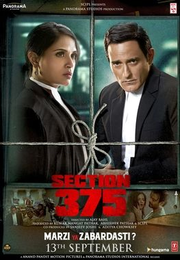 Section 375 (Hindi) Movie