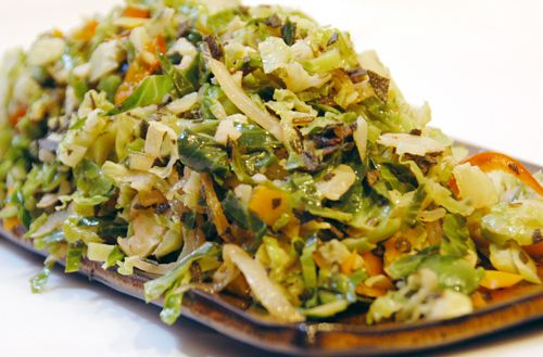 Indian Brussel Sprouts fry healthy
