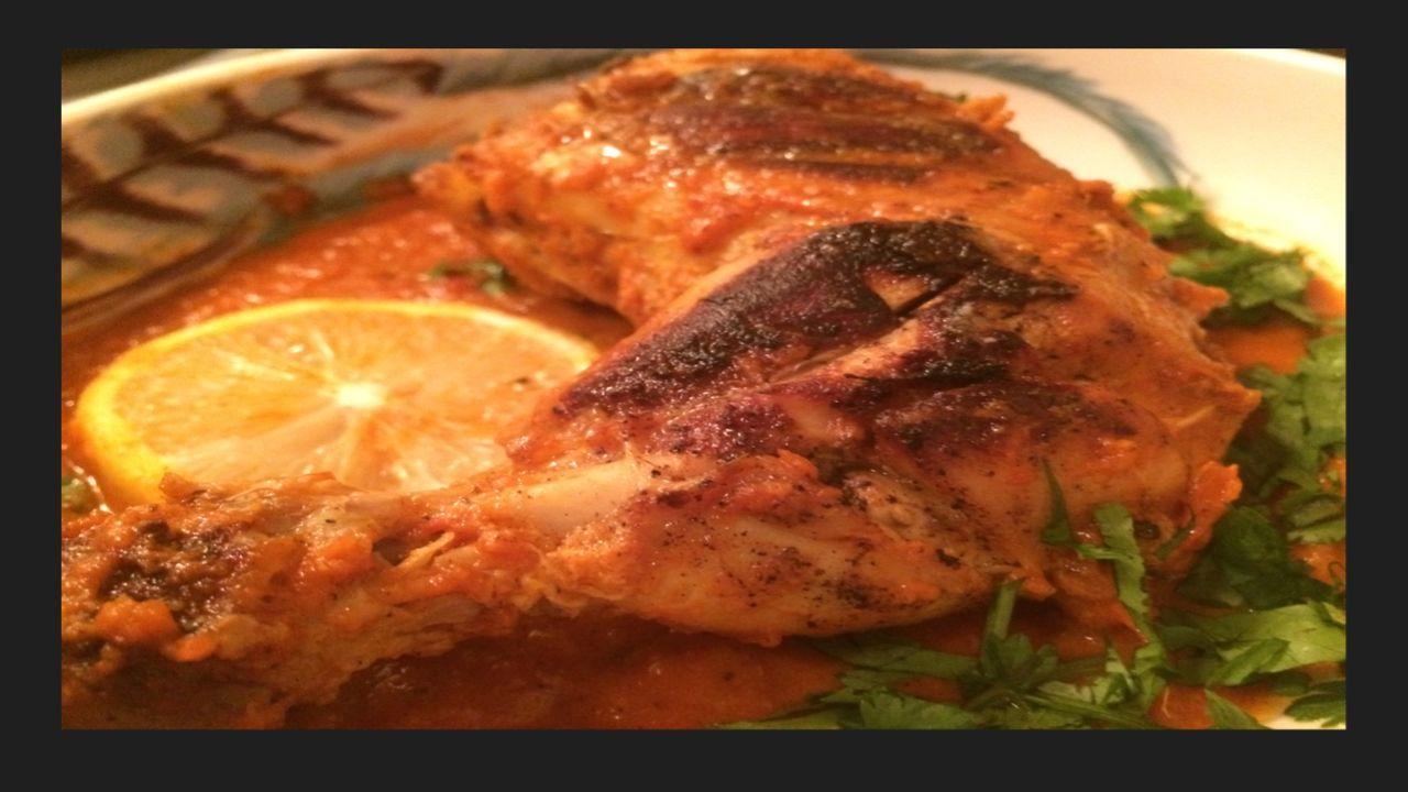 Tandoori Chicken Gravy/ without oven