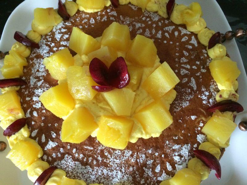 Pina colada cupcakes/ super moist coconut cake