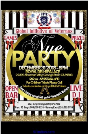 GIVE Presents New Year Eve Party 2019