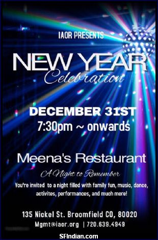 IAOR - New Year Celebrations
